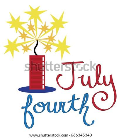 July Fourth Firecracker