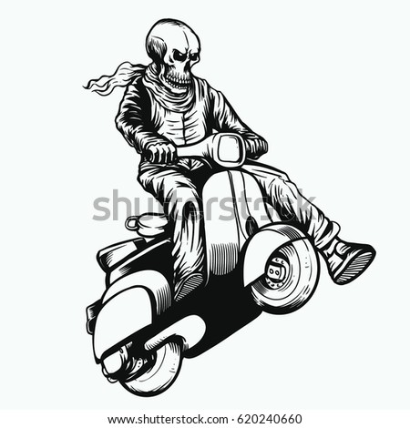ghost rider stock images royalty free images vectors shutterstock. Black Bedroom Furniture Sets. Home Design Ideas