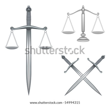 Justice - stock vector