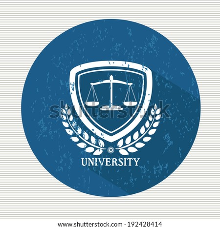 Justice button,vector - stock vector