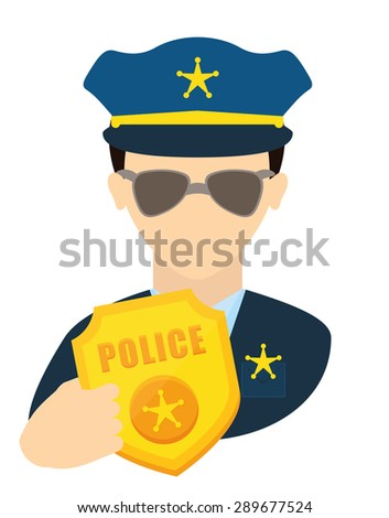 justice icon design over white background, vector illustration - stock vector