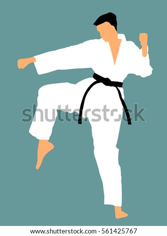 karate belt stock vectors, images & vector art | shutterstock, Presentation templates