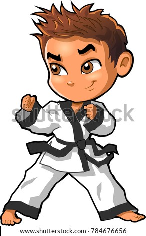 karate martial arts tae kwon do stock photo photo vector rh shutterstock com martial arts boy clipart martial arts images clip art