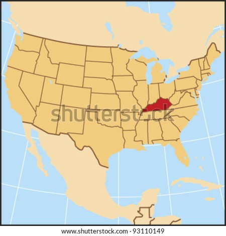 Kentucky Locate Map