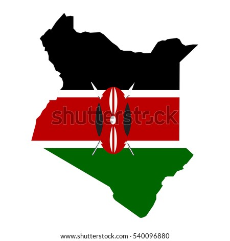 Kenya Map Stock Images RoyaltyFree Images Vectors Shutterstock - Kenya map