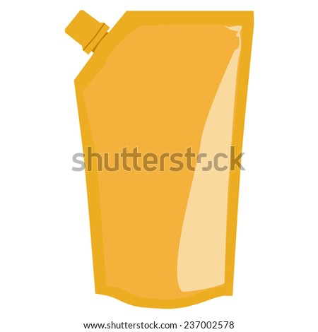 Ketchup, sauce vector, mayonnaise, template, package isolated on white - stock vector