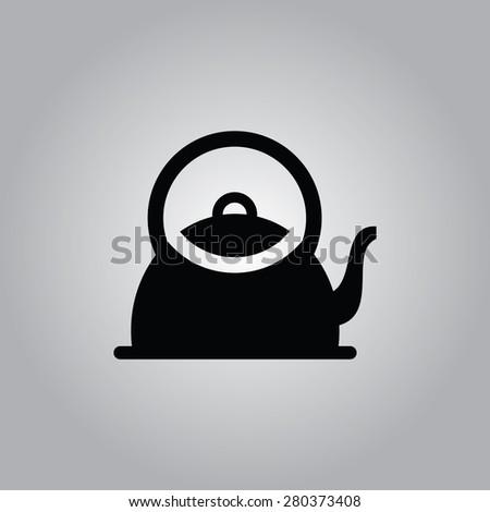 Kettle Icon. - stock vector