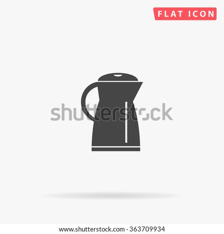 Kettle Icon Vector.