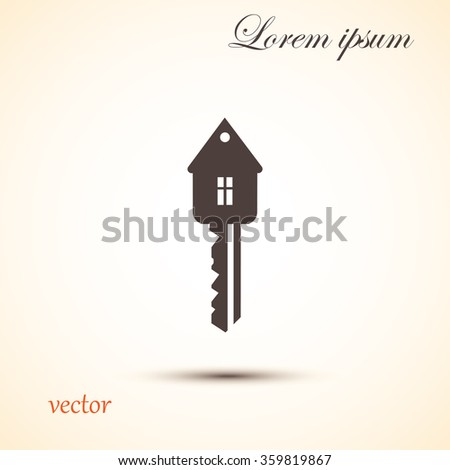 key icon, real estate