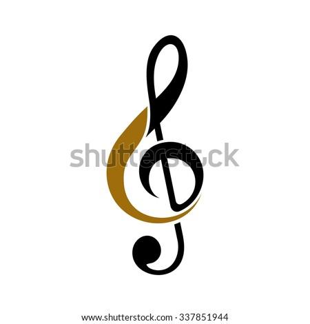 key note logo design. logo vector. - stock vector