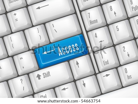keyboard buttons-access