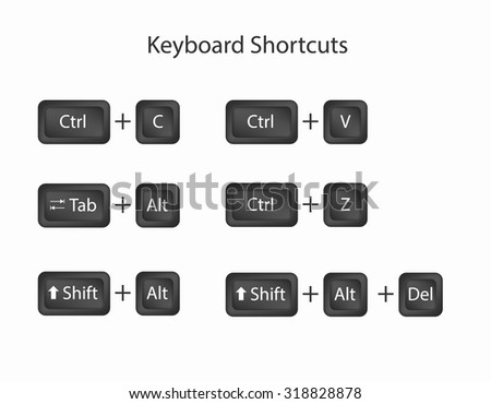 how to cut and paste on computer using keyboard