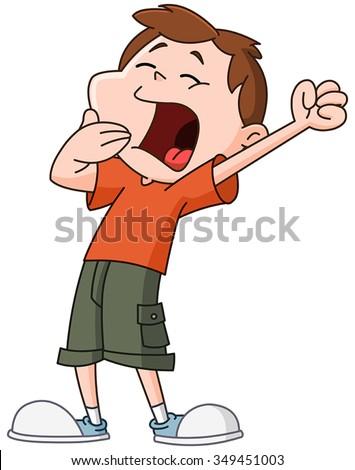 Yayayoyo's Portfolio on Shutterstock Yawning Girl Cartoon