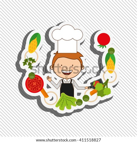 kids cooking design