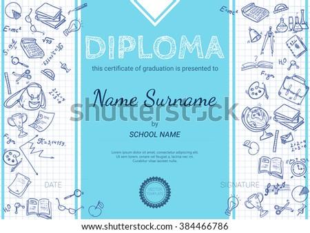 medical school diploma template