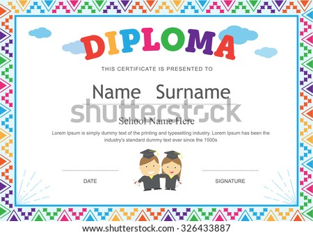 Sample certificates for kids cinderella childrens certificates free certificate of appreciation stock images royaltyfree images yadclub Gallery