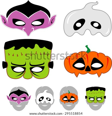 kids halloween masks set - Kids Halloween Masks