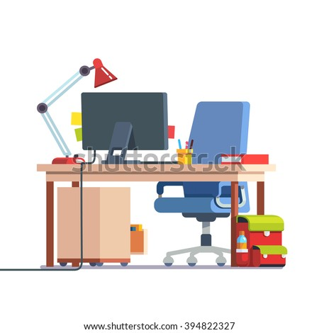 School chair stock images royalty free images vectors for School desks for home