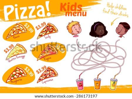 kids menu stock images royalty free images vectors shutterstock. Black Bedroom Furniture Sets. Home Design Ideas