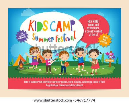 Summer Camp Stock Images RoyaltyFree Images  Vectors  Shutterstock