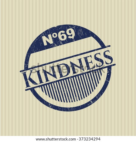 Kindness rubber stamp