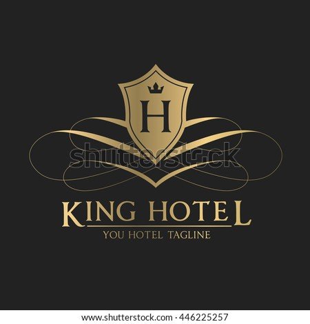 Hotel logo stock images royalty free images vectors for Hotel logo design