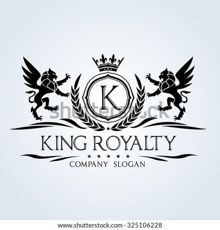 King Horse Logo Stock Vector 474005317 Shutterstock