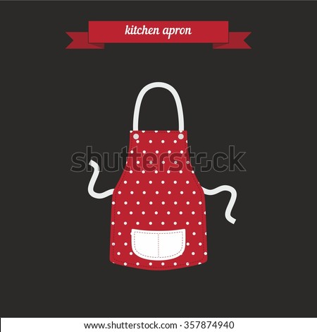 Apron stock images royalty free images vectors for Kitchen design vector