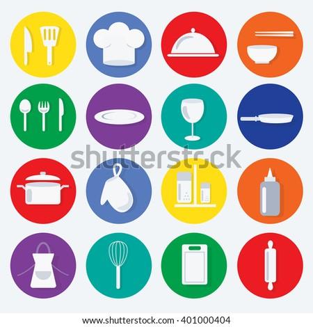 kitchen icon. vector illustration - stock vector