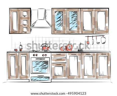 Architectural Sketch Stock Photos Royalty Free Images Vectors Shutterstock