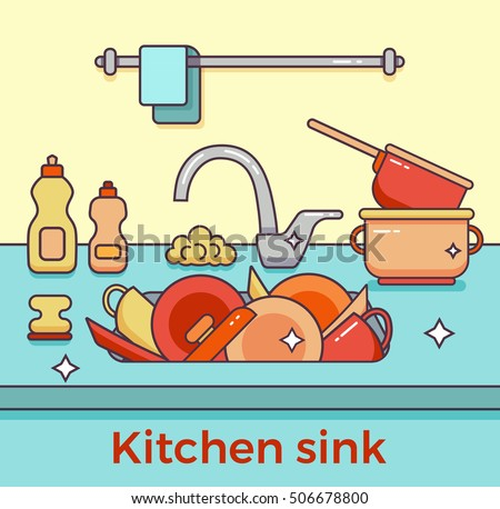 My Kitchen Sink Fills With Smelly Water