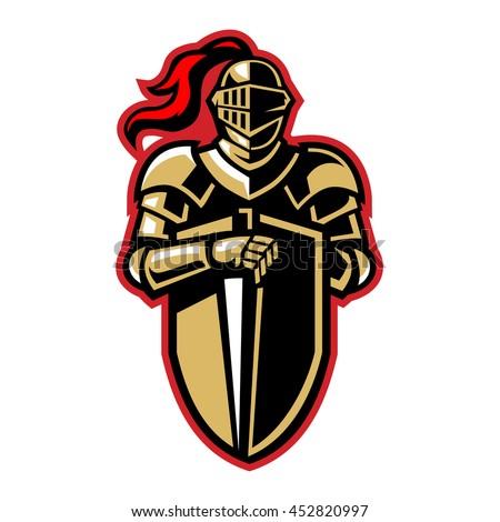 Army Black Knights Alternate Logo (2000) -   Balls ...  Knights Helmet Logo