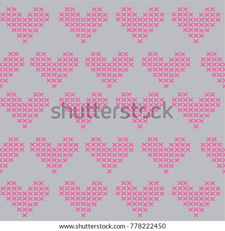 Knitted Hearts Pattern Image Collections Knitting Patterns Free