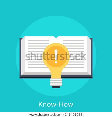 Know-How - stock vector