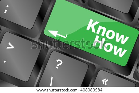 know knowledge or education concept button on computer keyboard . Keyboard keys icon button vector. keyboard keys, keyboard button, keyboard icon - stock vector