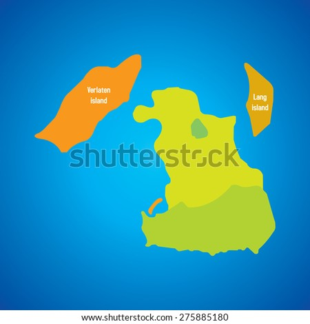 Krakatoa krakatau vector map island names stock vector royalty free krakatoa krakatau vector map with island names publicscrutiny Image collections