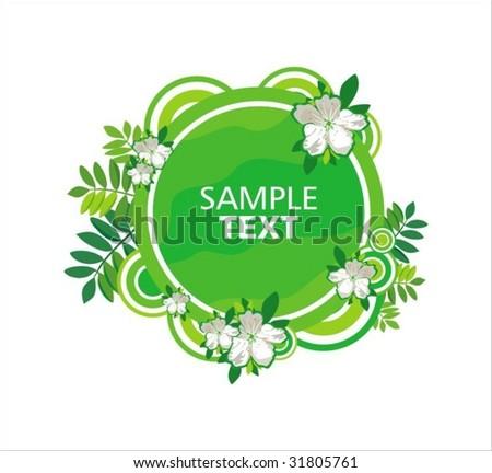 Label design - stock vector