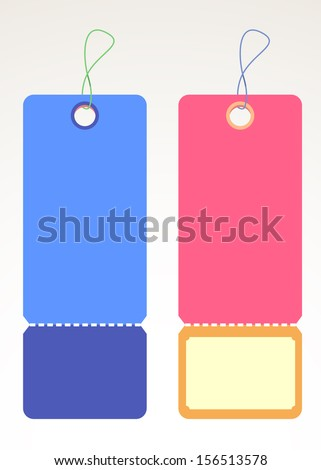 Label Vector Design Collection - stock vector