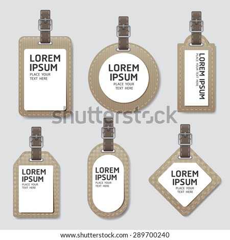 labels paper tag style. Sale banners price tag paper card - stock vector