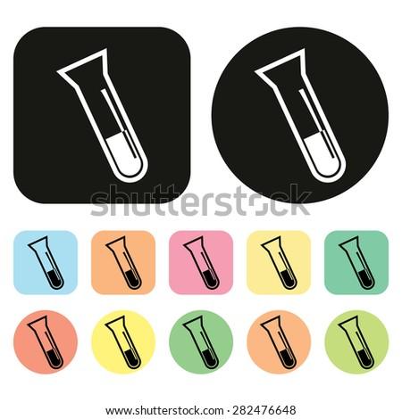 laboratory equipment icon. Hospital icon. Medical icon. Vector - stock vector