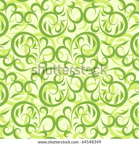 Lace vector green background