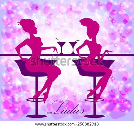 Ladies in cafe