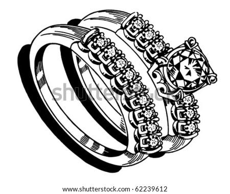 Ladies Wedding Ring Set 2