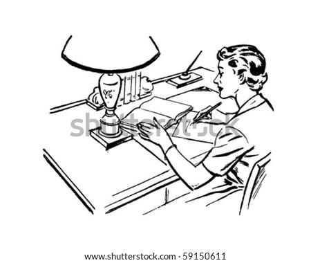Doodle Art Desk Teen 81