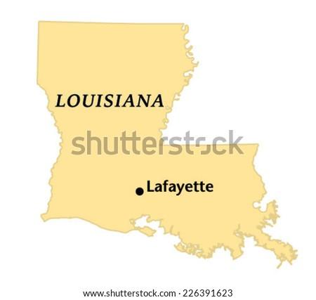 Lafayette louisiana locate map stock vector royalty free 226391623 lafayette louisiana locate map publicscrutiny Images