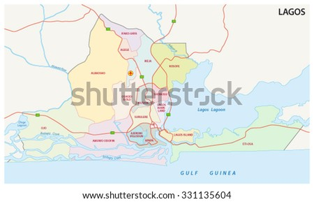 Administrative Map Equatorial Guinea Stock Illustration 148795193