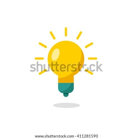 Lamp bulb Icon - stock vector