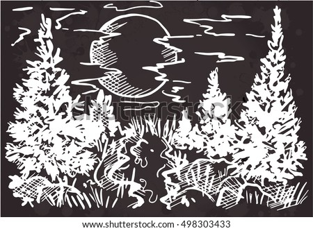 Landscape forest, landscape sketch, landscape river, landscape vector, landscape  background, landscape doodle, landscape graphic, landscape nature, landscape forest, landscape design, landscape cute.