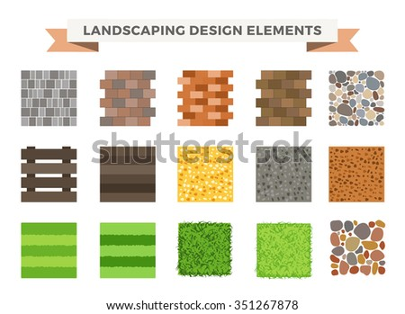 Landscaping stock photos royalty free images vectors for Landscape design icons