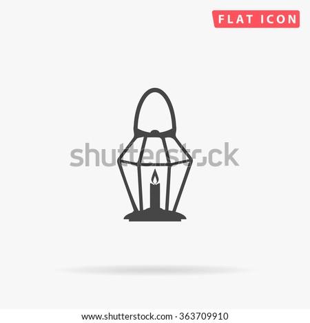 Lantern Icon Vector.